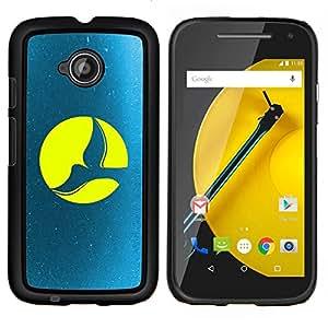 Stuss Case / Funda Carcasa protectora - Paloma de la Luna Llena - Motorola Moto E2 E2nd Gen