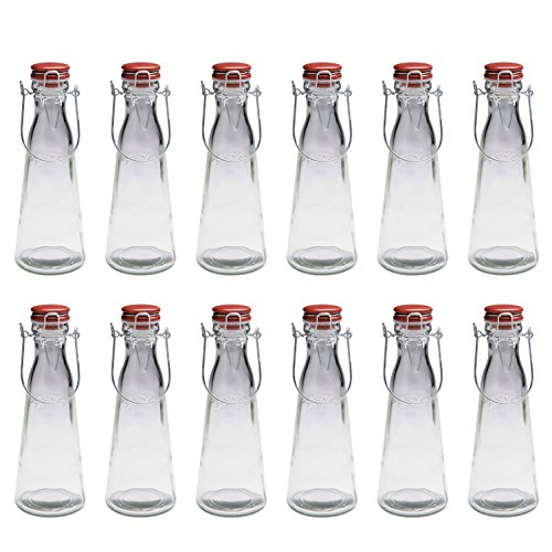 Kilner Vintage Clip Top Bottle, 34-Fl Oz, Case of 12 by Kilner