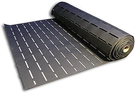 13,33m x 1,5m SikaLayer 05 Sous-couche acoustique pour parquet /à/ coller Isolant phonique Noir