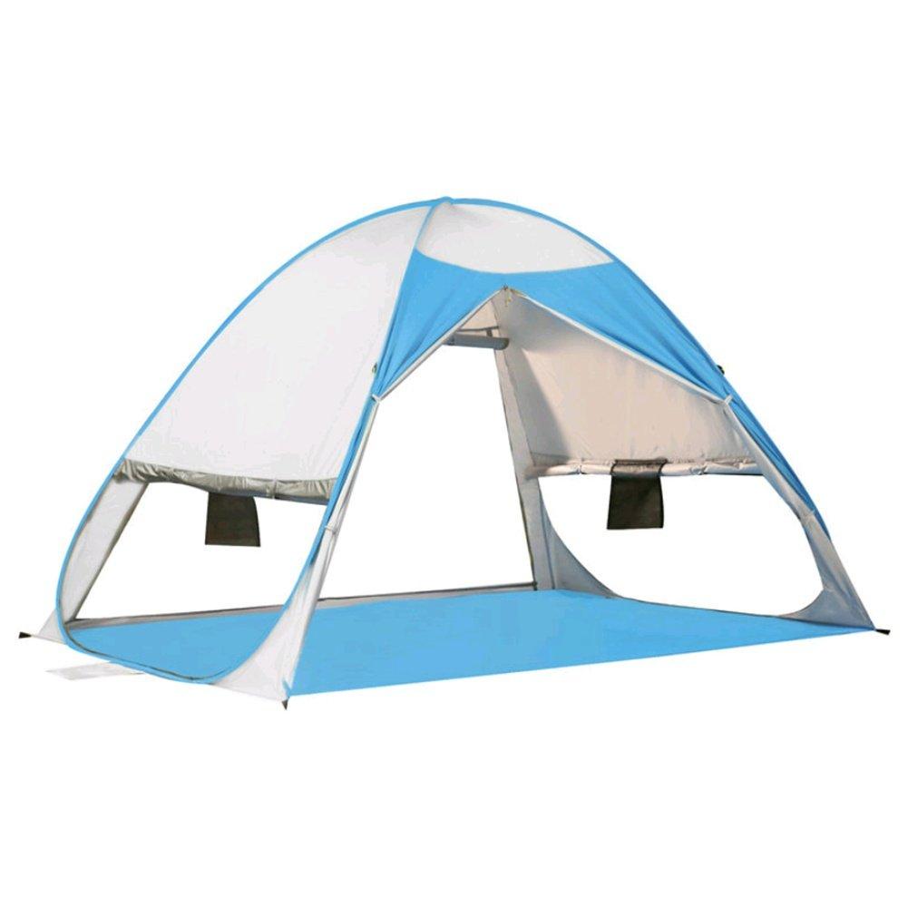 ZHANGP Strand Zelt Outdoor automatische Zelt Geschwindigkeit Visier Feld 2-3 Personen Angeln Zelt