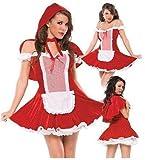 Bellus Women's Little Red Riding Hood Costume Halloween Size Medium