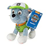 Paw Patrol - 8' Rocky Plush Toy, Standing Plush with Stitched Detailing, for Ages 3 & Up