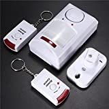 Product review for Wireless Motion Sensor Alarm IR Infrared Detector 2 Remote Control