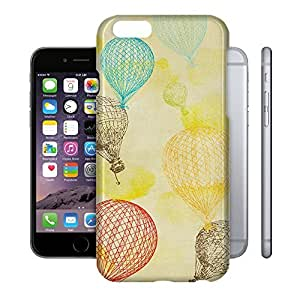 Phone Case For Apple iPhone 6 - Vintage Hot Air Balloons Glossy Hardshell