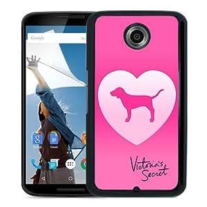 Victoria's Secret Love Pink 33 Black Personalized Recommended Custom Google Nexus 6 Phone Case