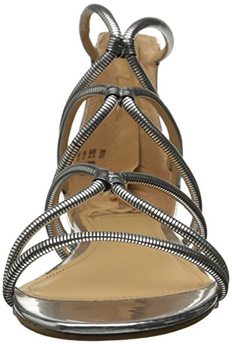 Vivian Gladiator Sandals Silver Toe Fergalicious Casual Open Womens agnAPp