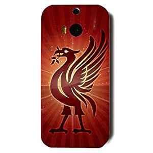 Fashion Design FC Liverpool FC Phone Case Cover For Htc One M8 3D Plastic Phone Case