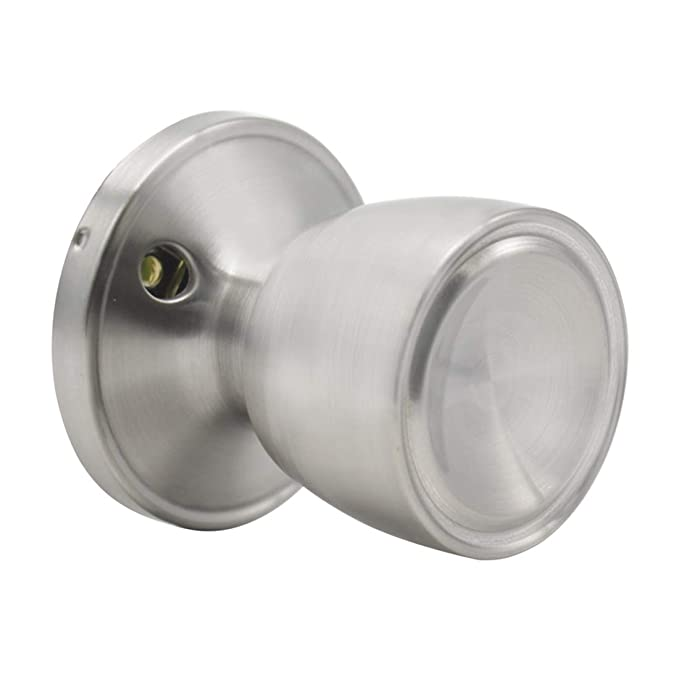 Diam/ètre de la base 65/mm Poign/ée de porte ronde Probrico Acier inoxydable Nickel bross/é