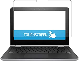 Puccy 2 Pack Anti Blue Light Screen Protector Film, compatible with HP Pavilion x360 11m-ad100 / ad113dx 11.6