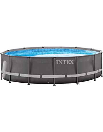 Intex 26310NP - Piscina desmontable Ultra Frame 427 x 107 cm, 12.706 litros