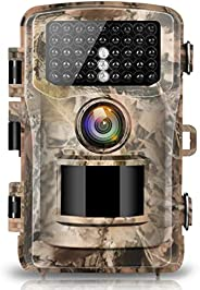 """Campark Trail Camera 16MP 1080P Hunting Cam 2.0"""" Color LCD Wildlife Game Scouting Digital Surveillance Ca"""