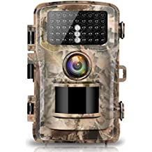 """Campark Trail Camera 14MP 1080P 2.4"""" LCD Game & Hunting Camera with 42pcs IR LEDs Infrared Night Vision up to 75ft/23m IP56 Waterproof for Wildlife Animal Scouting Digital Surveillance"""