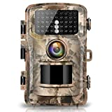 "Campark Trail Camera 1080P Hunting Cam 14MP 2.0"" Color LCD Wildlife Game Scouting Digital Surveillance Camera with 75ft/23m Infrared Night Vision 42pcs IR LEDs IP56 Waterproof"