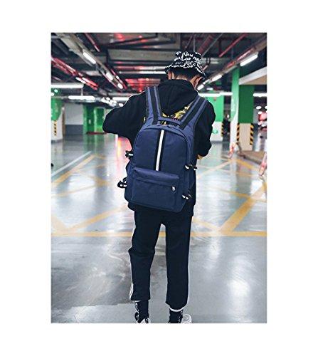 para Azul al hombre azul JUND Bolso Azul hombro vTnOqtx