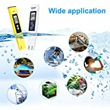 PH Meter and TDS Meter Combo,Digital PH Meter Water Quality Tester 0.05ph High Accuracy Pen Type pH Meter,Test TDS PH EC Temperature 4 in 1 Kit for Drinking Water,Aquarium,Swimming Pool,Agriculture