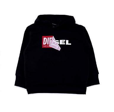 80661b2a7a Diesel Felpa Bambino 00J3ZP-00YI8 SALBY Nero