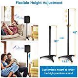 PERLESMITH Speaker Stands Extend 30-45 Inch with
