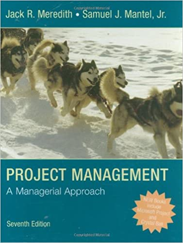 A Managerial Approach Project Management