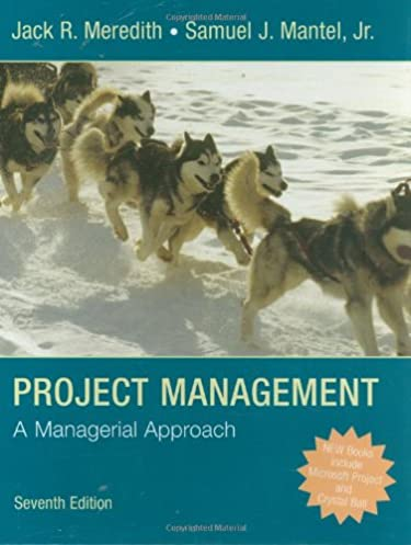 project management a managerial approach jack r meredith samuel rh amazon com Physics Solutions Manual Test Bank Solutions Manual