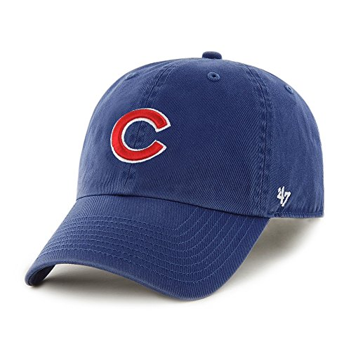 '47 Chicago Cubs Adjustable 'Clean up' Hat by Brand (Royal, One Size)