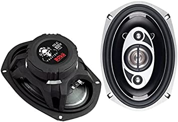 6 x 9 Inch BOSS Audio CH6950 Car Speakers Easy Mounting Full Range Sold in Pairs 5 Way 600 Watts Of Power Per Pair And 300 Watts Each