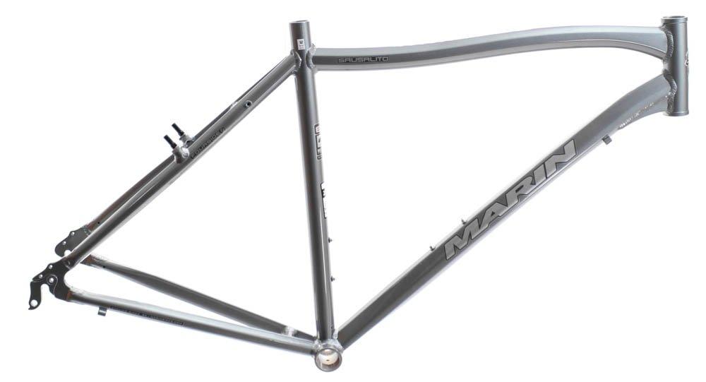 19インチMARIN SAUSALITO ロードコミューター自転車フレーム 合金 グレー 700c E3 チューブ NOS   B01N6NI9MS