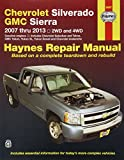 Haynes 24067 Chevy Silverado & GMC Sierra Repair Manual (2007-2013)