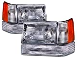95 jeep grand cherokee parts - Headlights Depot CS024-B0016 Jeep Grand Cherokee OE Style Replacement 6 Piece Set