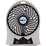 innobay 4 Rechargeable Personal Fan, 3 Speeds Setting, Wind Blow Angle Adjustable
