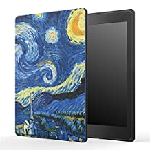 "Kobo Aura One Case, [Ultra Compact] MoKo Premium Protective Slim Lightweight Cover Case, with Auto Wake / Sleep for Kobo Aura One 7.8"" eReader 2016 Release, Starry Night"