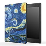 MoKo Kobo Aura One Case, [Ultra Compact] Premium Protective Slim Lightweight Cover Case, with Auto Wake/Sleep for Kobo Aura One 7.8' eReader 2016 Release, Starry Night