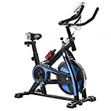 BestMassage Cycling Bike Exercise Bike Pro Indoor Cycling Spin Bike Trainer Bicycle Cardio