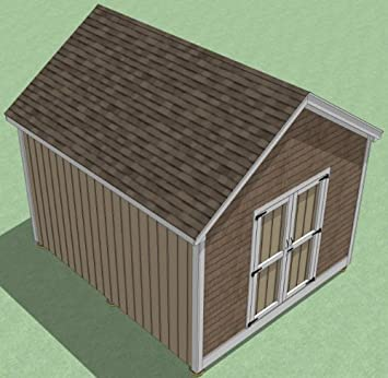 Utility Storage 12x14 Shed Plans Garden How To Build Guide Step By Step