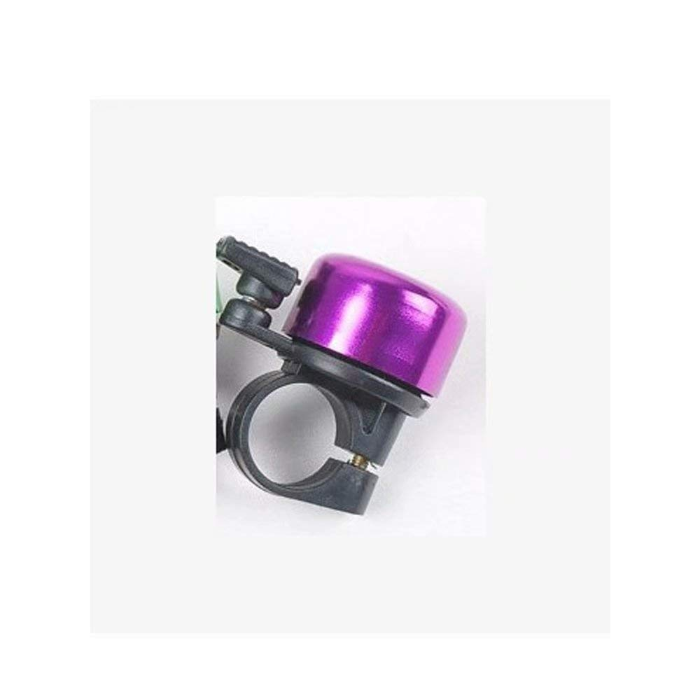 Mirrycle Incredibell Brass Duet Bicycle Bell Purple with Caps AA133