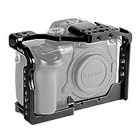Jaula SmallRig GH5 /GH5S para cámara Panasonic Lumix y DMW-XLR1 (versión actualizada) - 2049, jaula de cámara para estabilización de video, accesorios de video profesionales