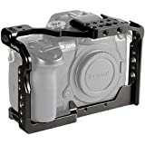 SmallRig GH5/GH5S Cage for Panasonic Lumix Camera and DMW-XLR1 ( Upgraded Version ) - 2049, Video Stabalization Camera Cage, Professional Video Accessories