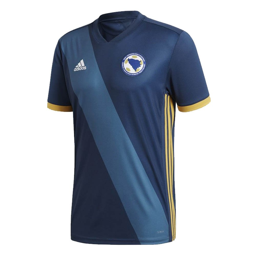 2018-19 Bosnia Herzegovina Home Football Soccer T-Shirt Trikot (Eden Dzeko 11)