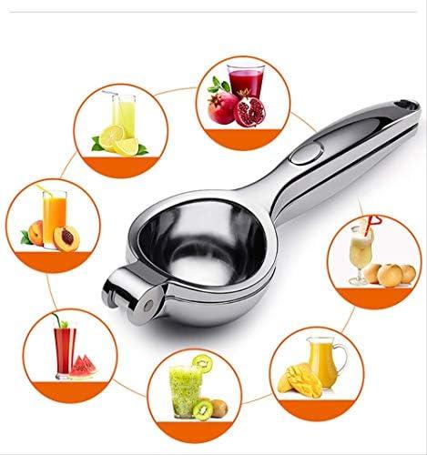 HZP Edelstahl manuelle Haushalt Fruchtsafter Zitrone Clip Citrus Gemüse Mini Entsafter Baby Obst Küche Haushalt Gadget