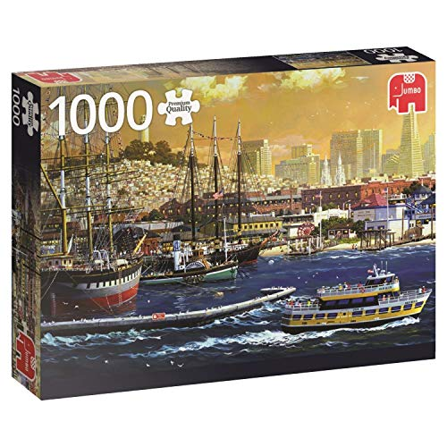 Jumbo The Harbour of San Francisco USA Jigsaw Puzzle (1000 Piece)