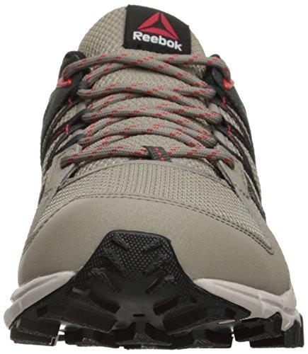 Reebok Mens Trailgrip Rs 5.0 Scarpa Da Corsa Beach Stone / Dark Sage / Sand Stone / Riot Red / Black