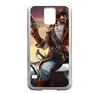 Gangplank-002 League of Legends LoLDiy For Iphone 6 Case Cover PC White