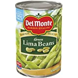 Del Monte Green Lima Beans, 15.25-Ounce Cans (Pack of 12)