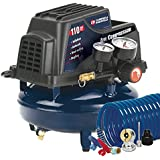 Campbell Hausfeld FP2028 1-Gallon Oil-Free Pancake Air Compressor with Accessory Kit