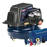 Campbell Hausfeld Air Compressor, 1-Gallon Pancake Oilless .36 CFM .33HP 120V 3A (FP2028)