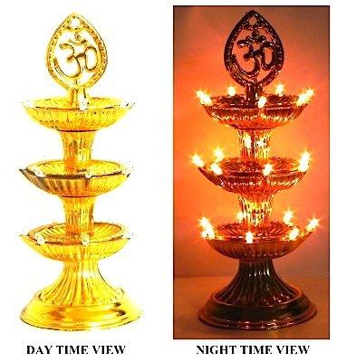 Electric Diya Lamp (3 Tier) 21 Lights