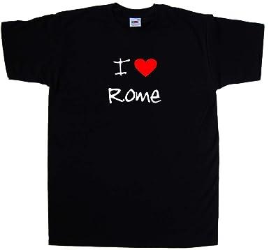 I Love Heart Rome V-Neck T-Shirt