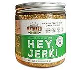 Hey Jerk! Jamaican Jerk Chicken Seasoning by Wayward Gourmet - Bring Authentic Jamaican Flavor to Chicken, Beef, Pork, Fish - No Salt Dry Rub - Vegan - No MSG or Gluten - Great Jamaican Jerk Marinade