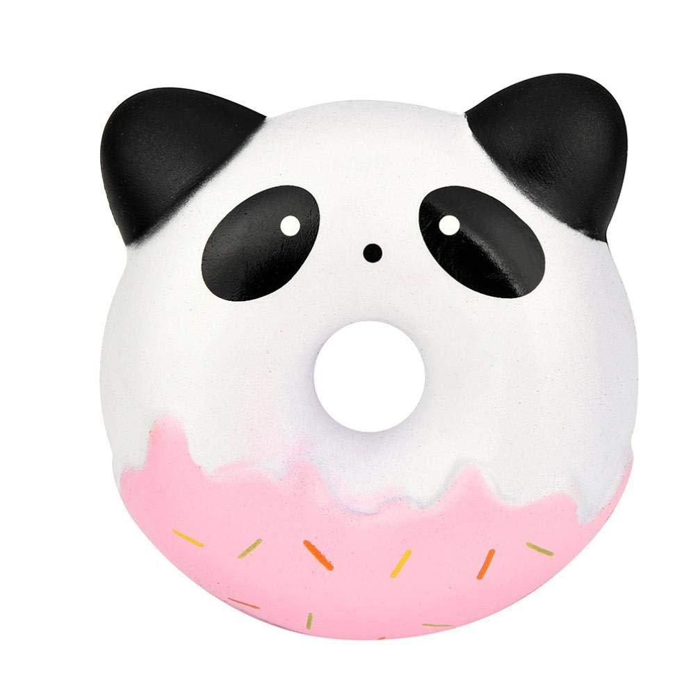 Kangrunmys Squishy Pas Cher Kawaii Squishies Mignon Panda Beignets Kawaii crème parfumée Lente Hausse du Stress Jouet de soulagement