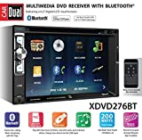 Dual XDVD276BT 6.2' LCD Touch Screen Double Din Car Stereo