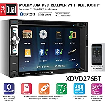 2003 nissan maxima stereo wiring diagram amazon com dual xdvd276bt 6 2  lcd touch screen double  amazon com dual xdvd276bt 6 2  lcd touch screen double